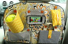A Jennuine Life featured on Apartment Therapy!!!! Car Backseat Entertainment Organizer A Jennuine Life