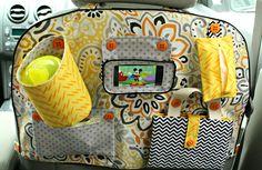 Car Backseat Entertainment Organizer A Jennuine Life