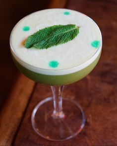 I'm practicing Matcha Green Tea Ceremony since 8 years and I always been a huge fan of Tea Cocktails but there's a time for everything. I managed to create an amazing balance mixing Matcha infused Macchu Pisco with Mint - Sour Mix and Egg White - on the top with 4 drops of Mint Bitters !