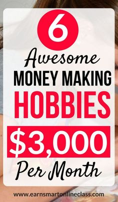 Some hobbies that allow you to make money fast online with awesome money making ideas. So try this online earning tips and make money from home. These ways allows weekly payouts and higher payout rates. Earn Money From Home, Earn Money Online, Make Money Blogging, Making Money From Home, Online Earning, Sell Things Online, What To Sell Online, Money Making Crafts, Earning Money
