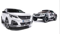 2017 Peugeot 3008 and 3008 DKR