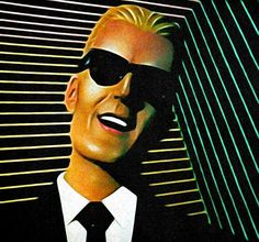 The Max Headroom Incident | Tales of History and Imagination Max Headroom, Wgn Tv, Sci Fi Shows, New Actors, Chicago City, Tv Station, Detroit Lions, American Football, Doctor Who