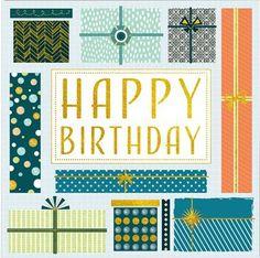 Presents, Birthday Card