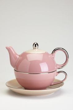 Siena Mauve & Mocha Tea For One with Gift Box on HauteLook