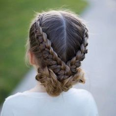 """1,415 Likes, 37 Comments - Hair & Kids Fashion (@abellasbraids) on Instagram: """"Our newest tutorial for the #cghflipoverbraid for @cutegirlshairstyles just went up! There's a link…"""""""