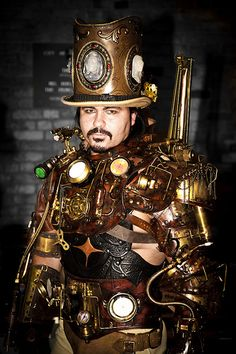 Check out this steam punk man :)    Site: http://fearlessvampirekillers.co.uk