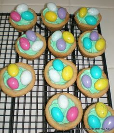 Making Memories ... One Fun Thing After Another: Easter Egg Hunt Cookies (filled with goodness!)