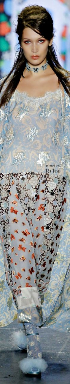 ❇Téa Tosh❇ Anna Sui, Spring 2017, Ready-to-Wear