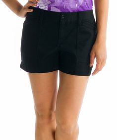 Another great find on #zulily! Black Hike Shorts by Lolë #zulilyfinds