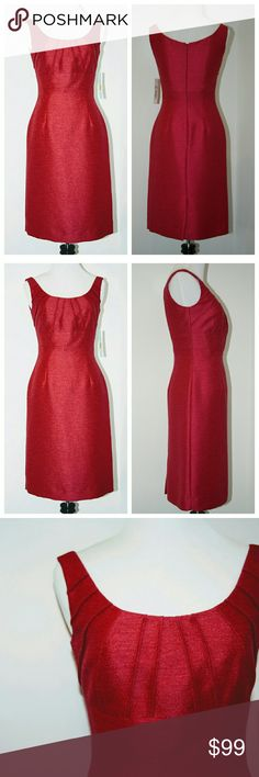 Antonio Melani Dress Raspberry Magenta Antonio Melani Dress Color: Raspberry Magenta  NWT. In perfect condition!  Size 0  Flattering fit. Fully lined.   Classic retro silhouette Iconic style Versatile! Special occasion or date night. Or, pair with a cropped cardigan for weekend brunch or garden party.  Impeccable tailoring. Beautiful finish details. ANTONIO MELANI Dresses Midi