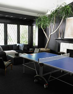 59 best ping pong rooms and spaces images ping pong room ping rh pinterest com