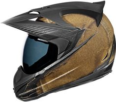Icon Variant Helmet - Battlescar Survival Gear for any need! http://www.motorcyclecloseouts.com/off+road/dual+sport+gear/icon_variant+helmet+-+battlescar