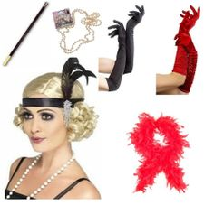 1920s 20s Flapper Charleston Gangster Costume Accessories - Choose #Theater #Costume #Drama