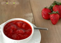 Simple Homemade Strawberry Sauce