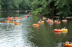 1. Float Down Delaware's Natural Lazy River
