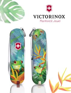 For the year, Victorinox and jovoto teamed up to design the 2017 Classic Limited Edition Swiss Army Knife. Here are the Victorinox 2017 Awards! Victorinox Pocket Knife, Victorinox Knives, Victorinox Swiss Army Knife, Animals Of The World, Folding Knives, Survival, Jewels, Country, Creative Illustration