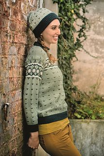 The Jaguar Pullover is part of the Dale Garn 320 Urban Retro collection. This beautiful pullover is an updated version - in color and fit - of a pattern from the Dale Garn archives.