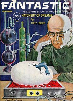 Alternate ending to Breaking Bad? (Fantastic Stories, Nov. 1961, cover by Lloyd Birmingham)
