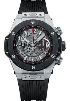 Hublot - Big Bang 45mm Unico Titanium Ceramic Watch 411.NM.1170.RX