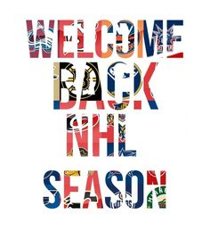 Welcome back!! #nhl #hockey #love