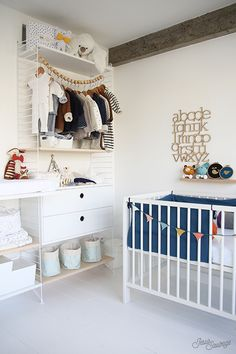 string system for modern nursery