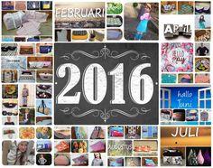 Mijn creaties in 2016
