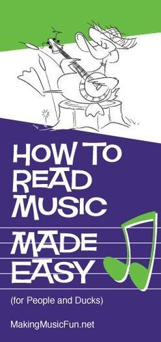 How to Read Music | A Beginner's Guide - An intro to all the basics plus loads of free printable worksheets on this site. (Scheduled via TrafficWonker.com)
