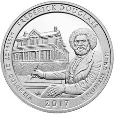 2017 5 oz ATB Frederick Douglass National Historic Site Silver Coin from JM Bullion™
