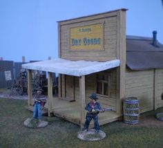 Colonel O'Truth's Miniature Issues: Old West - Building Tutorial