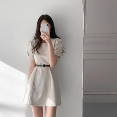 Korean Summer Outfits, Korean Casual Outfits, Cute Casual Outfits, Stylish Outfits, Stylish Girl, Girls Fashion Clothes, Teen Fashion Outfits, Girly Outfits, Pretty Outfits