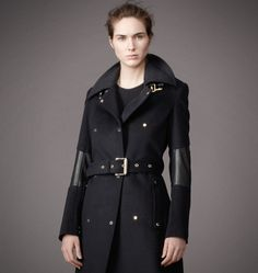 Belstaff | Womens Wool Hadlow Coat | Womens Designer Jackets & Coats