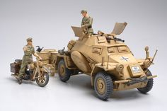 Tamiya German SDKFZ 222 1/35 Scale Plastic Kit | Hobbies Among the many armored cars developed by Germany in WWII, the Sd.Kfz.222 is one of the most widely recognized.