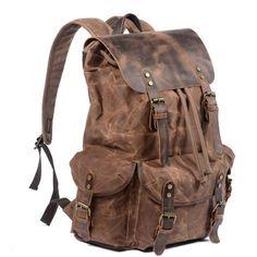 Retro Backpack, Rucksack Backpack, Travel Backpack, Travel Luggage, Leather Backpack For Men, Leather Backpacks, Vintage Leather Backpack, Leather Bags, Leather Men