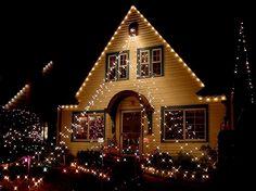Decoracion Exterior Navidad Decoracion Para Navidad Guirnaldas Con - Decoracion-navidea-para-exterior