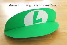 The moment that has been months in the making is finally here. I have made templates and a tutorial for making the Mario and Luigi poster board visors. Here's some background, I used a template and video from another website when I made the...