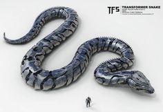 """좋아요 2,920개, 댓글 37개 - Instagram의 .:. Furio Tedeschi .:.(@furio_tedeschi)님: """"Transformer Snake unused concept for Transformers  5 #transformers5 #transformers…"""""""