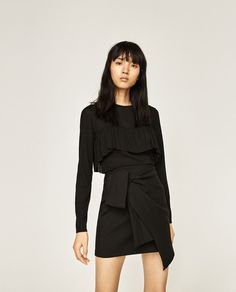 FRILLED TOP-NEW IN-WOMAN   ZARA United States
