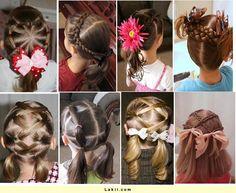 diy peinados niñas
