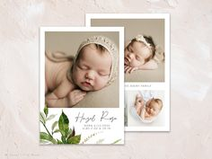 Photography Contract, Photography Templates, Image Photography, Newborn Photography, Birth Announcement Template, Birth Announcement Girl, Blog Banner, Watercolor Logo, Marketing Materials