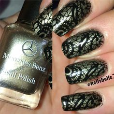 Mercedes nail polish bundle monster blogger series stamping plate!! This one is nailstamp4fun