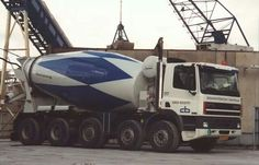 Ginaf cementbouw Types Of Concrete, Mixer Truck, Concrete Mixers, Motorcycles, Around The Worlds, Trucks, Cars, Vehicles, Autos