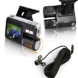DB POWER New model!Dual lens HD 720P Car Cam IR LED G sensor Video Camera Recorder Camcorder DVR