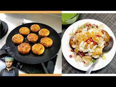 Crispy Aloo Tikki Recipe    Mix Chaat, Green Spicy Chutney, Paapri - YouTube