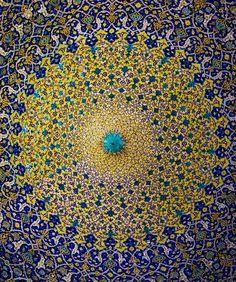 Curves of IRAN - stunning Iranian Architecture. Persian Architecture, Sacred Architecture, Beautiful Architecture, Beautiful Buildings, Islamic Tiles, Islamic Art, Shiraz Iran, Persian Pattern, Islamic Patterns