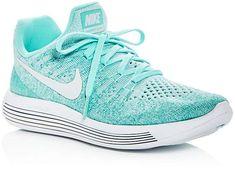 a4f717ff0fcb Nike Women s Lunarepic Flyknit 2 Lace Up Sneakers Tennis Sneakers