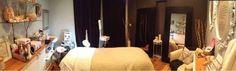 Esthetician room.