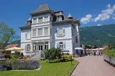 VCH-Hotel Mon Bijou, Unterseen bei  Interlaken, Thunersee, Berner Oberland, Schweiz / Switzerland. www.vch.ch/mon-bijou/.