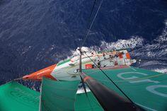 Groupama 4 / Leg 6 - Day 10 / Groupama in the Volvo Ocean Race / Credit : Yann Riou