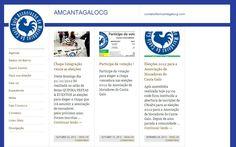 Site Associação de Moradores do CantaGalo.