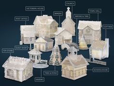 Christmas Village Complete Collection 2015